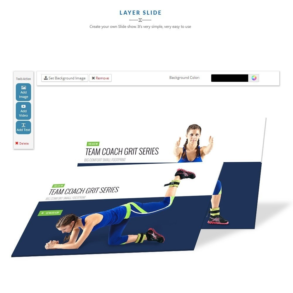 theme - Sports, Activities & Travel - Leo Fitness Store - 2