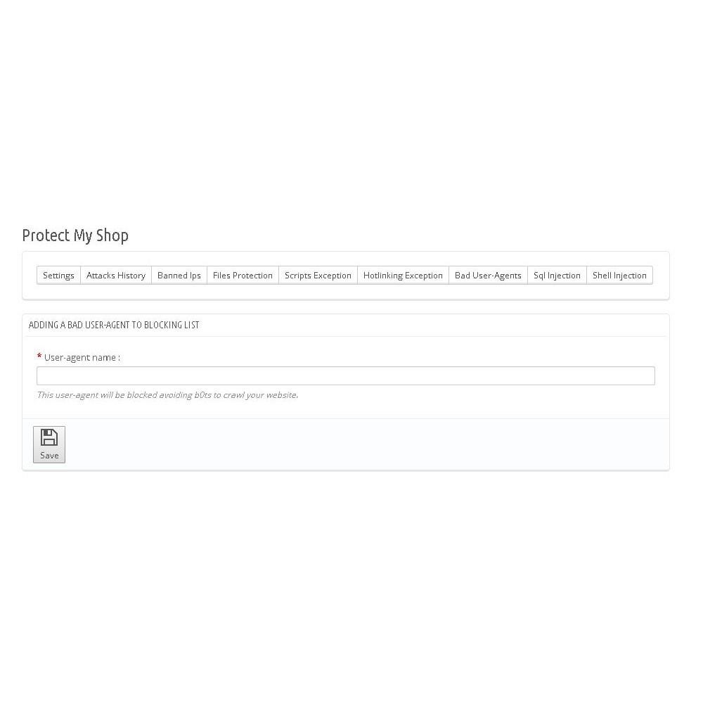 module - Seguridad y Accesos - Protect My Shop / Protéger Ma Boutique - 8