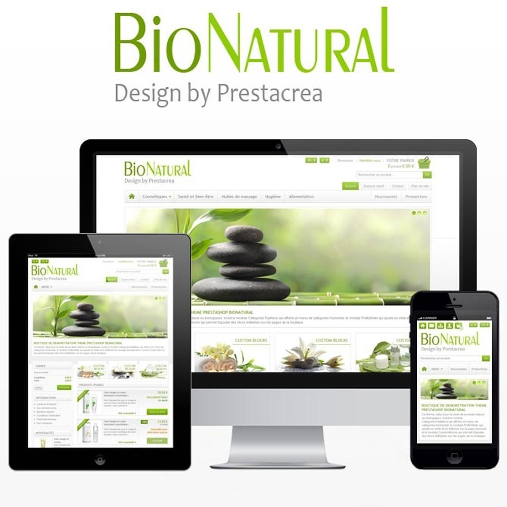 theme - Salud y Belleza - BioNatural - 1