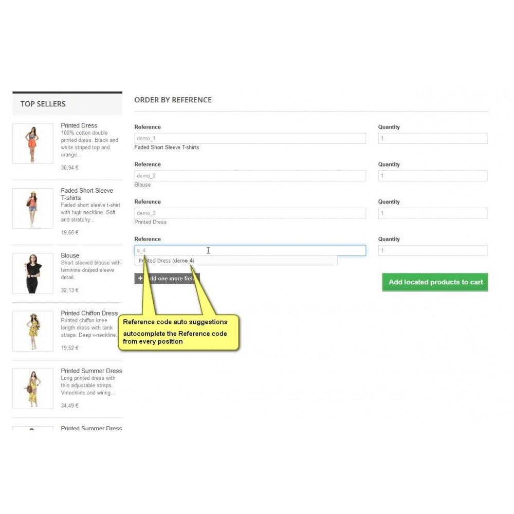 module - B2B - SKU orden: orden colectiva por número de artículo B2B - 3