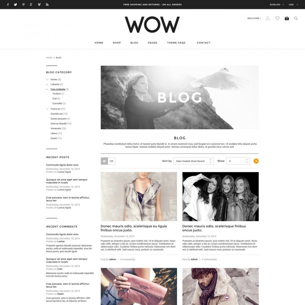 theme - Moda & Calzature - Wow - New Fashion Responsive PrestaShop - 6