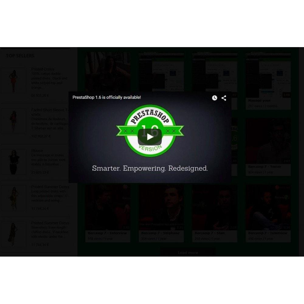 module - Widgets réseaux sociaux - Youtube Wall - 4