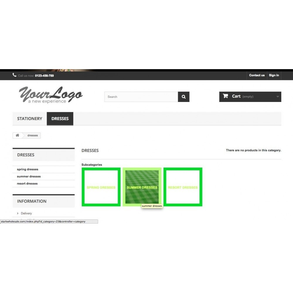 module - Page Customization - Subcategory Image Filler- Easy Store Builder - 11