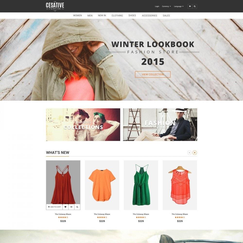theme - Moda & Calçados - ET Cesative - New Model Fashion Responsive Prestashop - 1