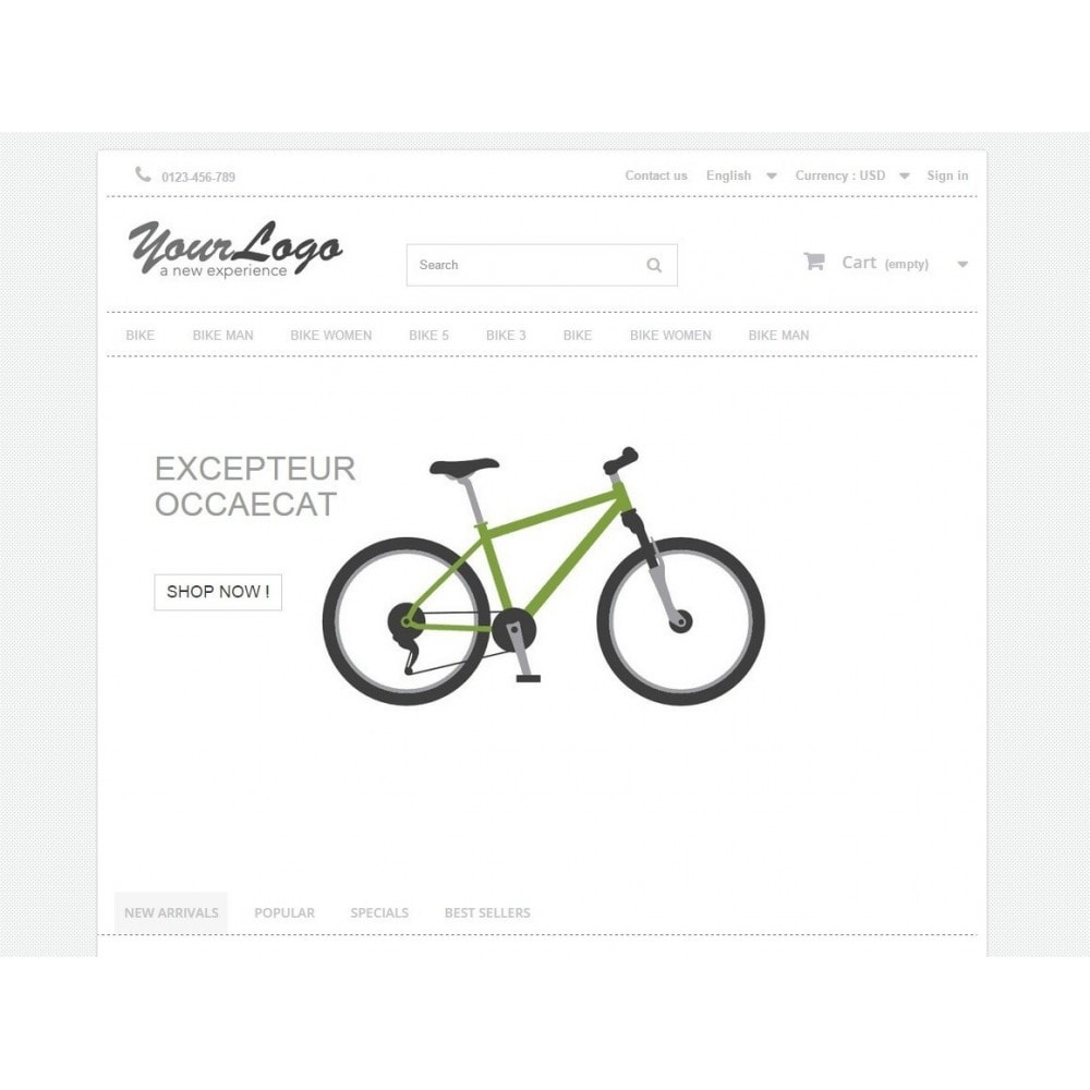 theme - Sport, Attività & Viaggi - Neutral, Sport and activities - Template Prestashop - 2