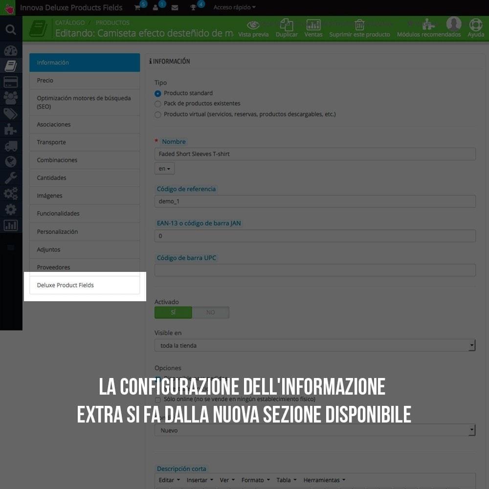 module - Altre informazioni & Product Tab - Tab con informazione extra nella scheda prodotto - 5