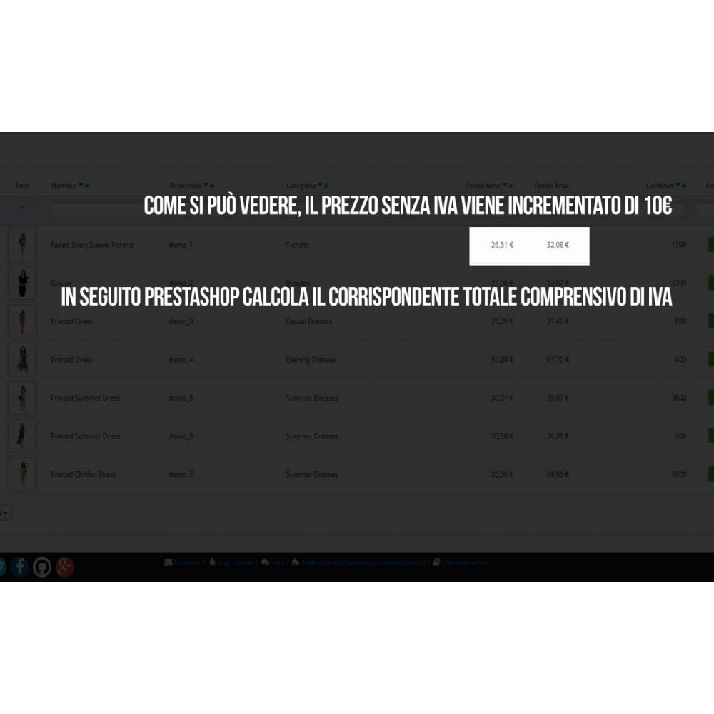 module - Modifica rapida & di massa - Modulo per l'aggiornamento massivo dei prezzi - 5