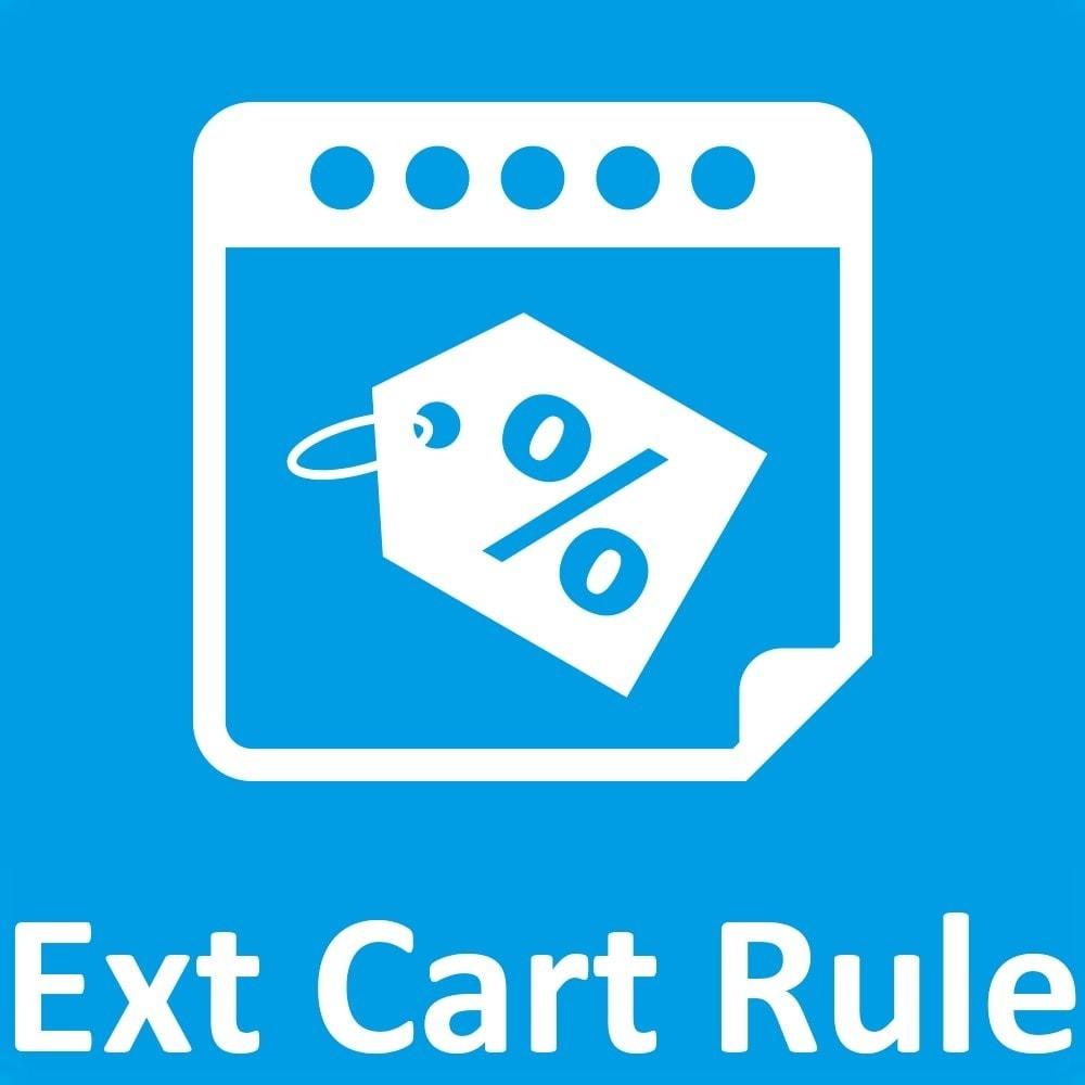 module - Promoções & Brindes - Olea Extended Cart Rules / Règles Panier Etendues - 1