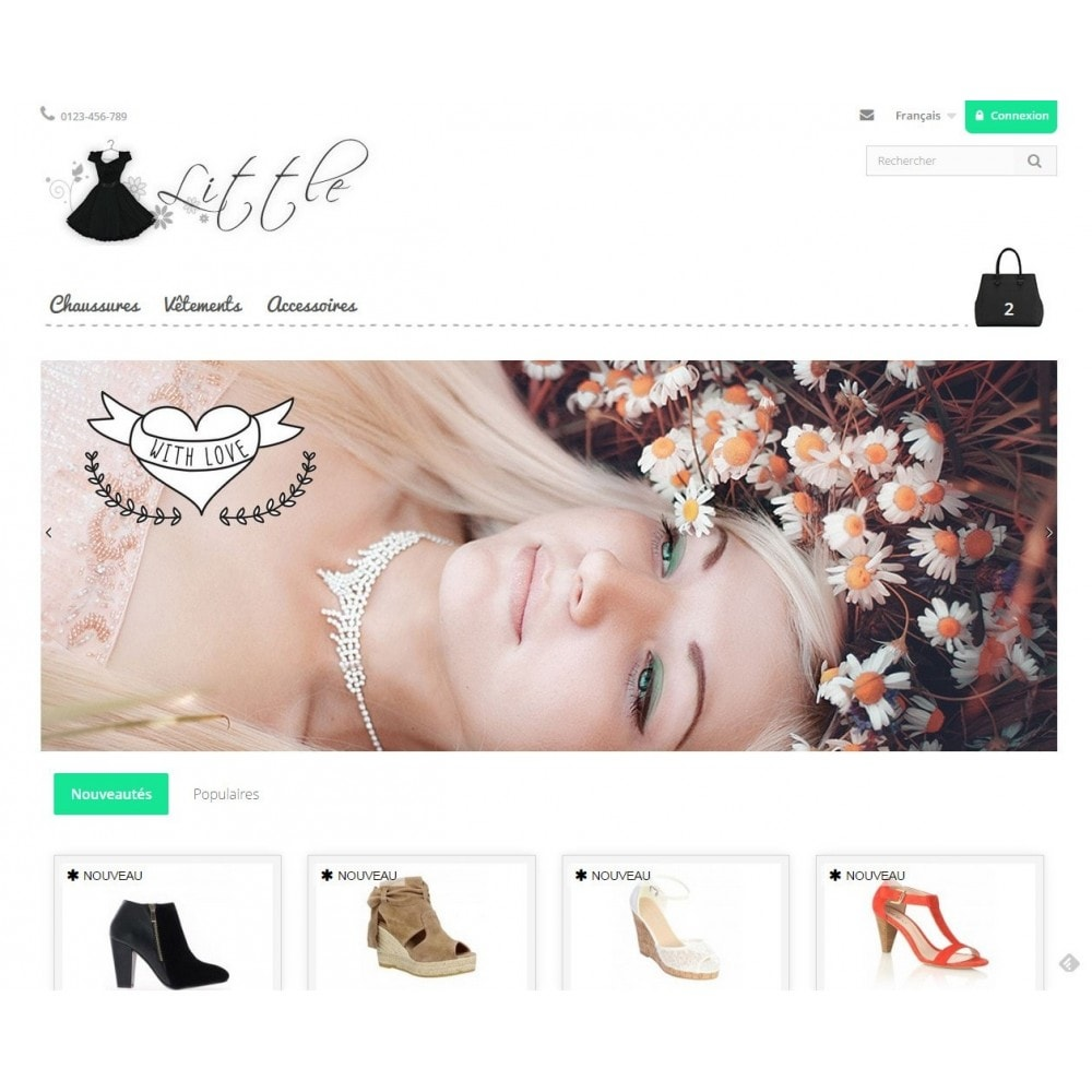 theme - Moda & Calzature - Little - 2