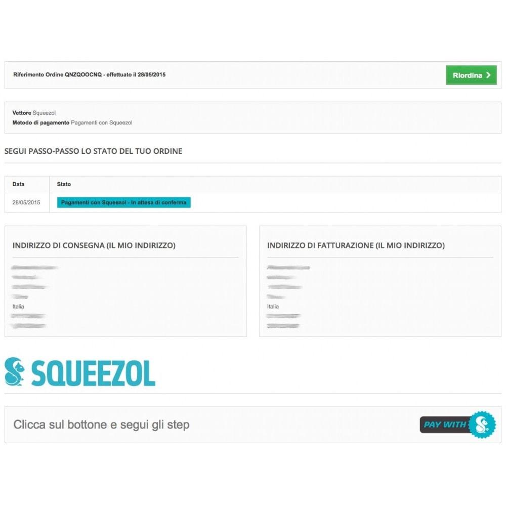 module - Altri Metodi di Pagamento - Squeezol Split-Paga con Squeezol(dividi con gli amici) - 8