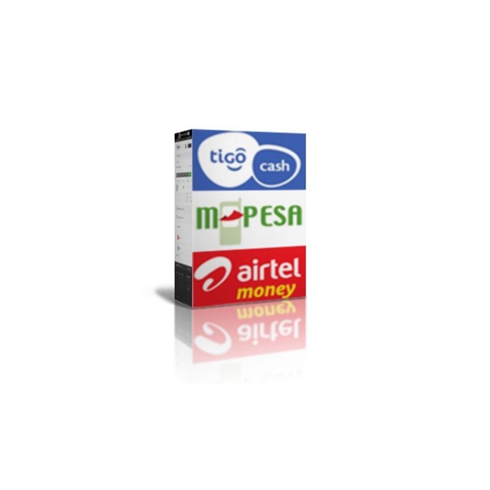 module - Autres moyens de paiement - Payments by M-Pesa , AirtelMoney, TigoCash - 1