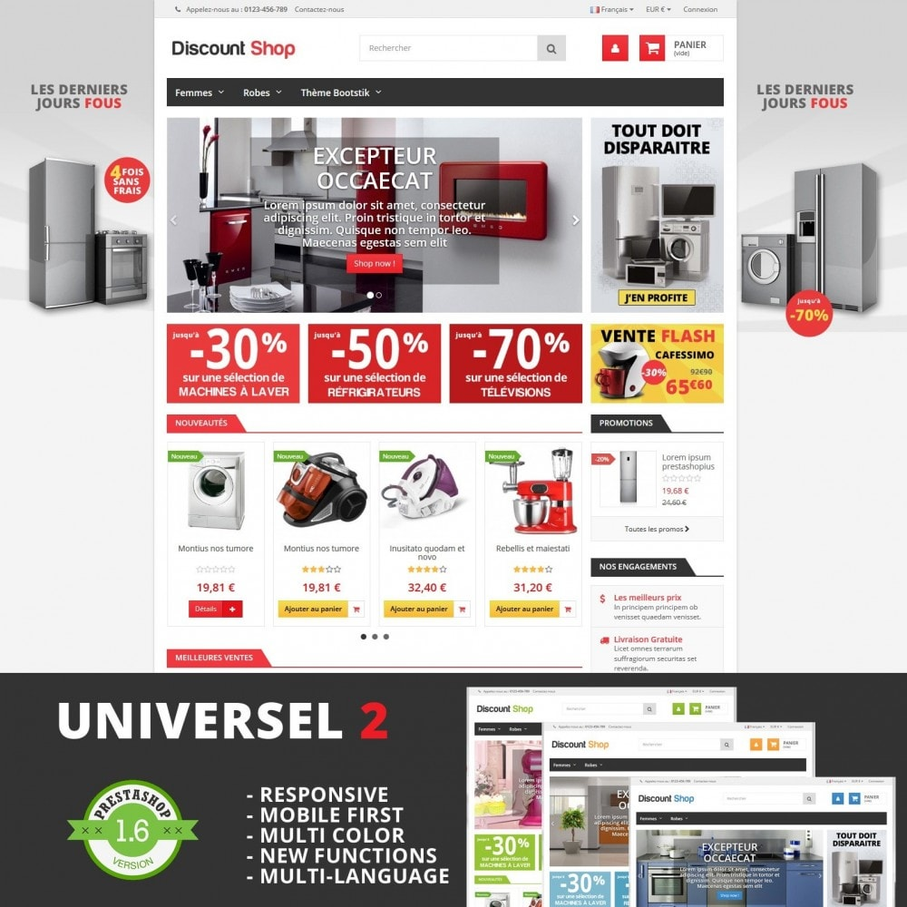 theme - Dom & Ogród - Universel 2 Responsive - 1