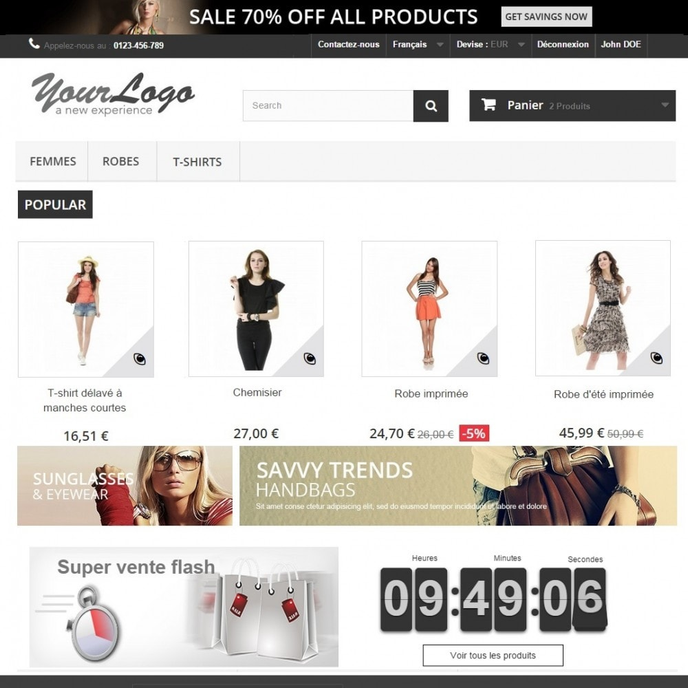pack - Les offres du moment - Faites des économies ! - Flash (Pack) : Ventes Flash Premium + Pop Promo - 2