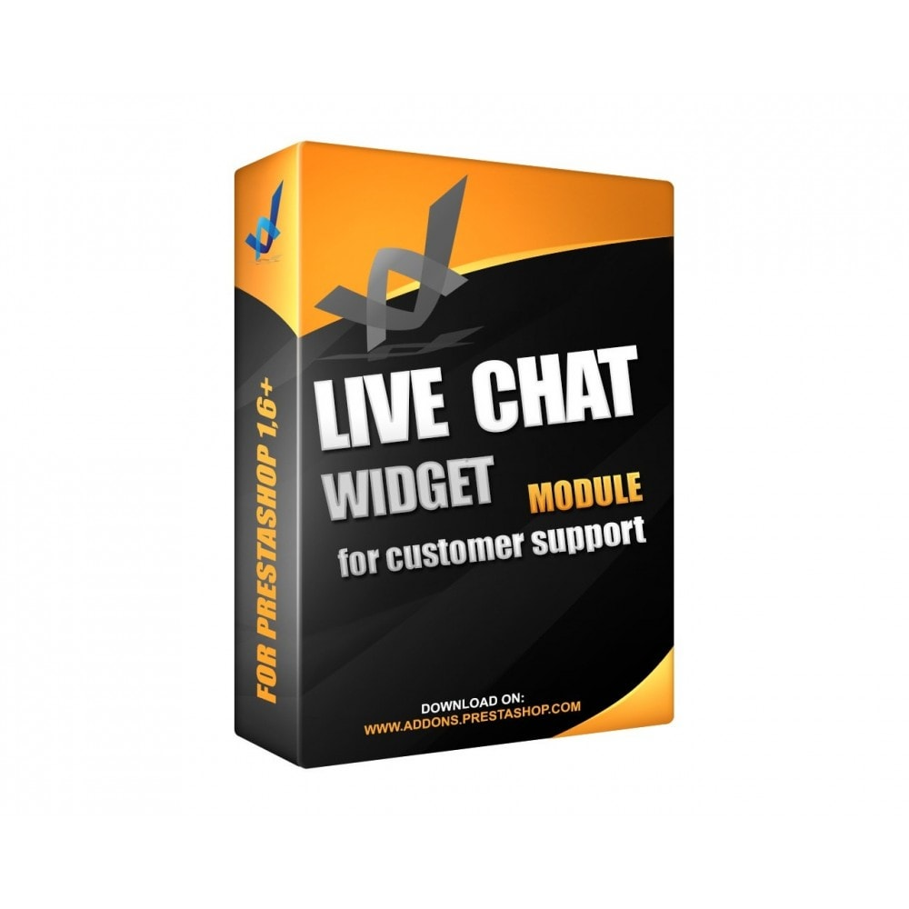 module - Supporto & Chat online - Live Chat Widget - 1