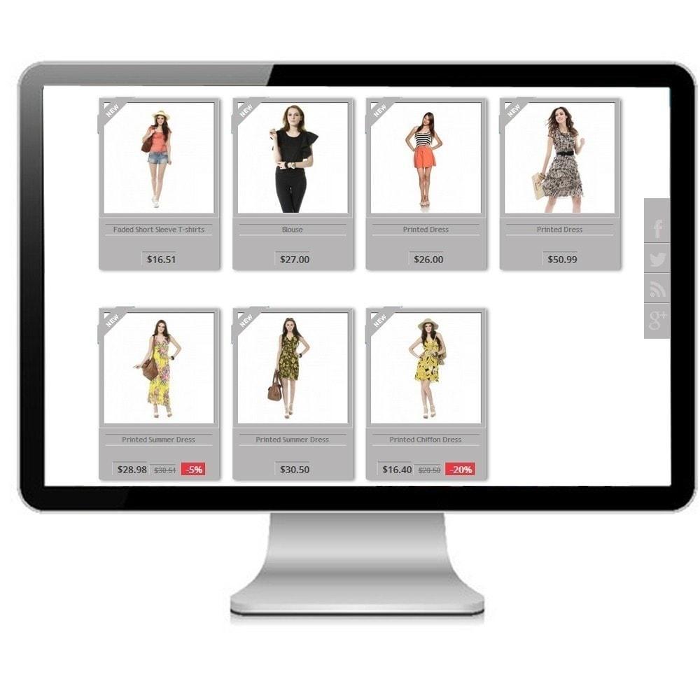 theme - Mode & Schoenen - Modern Design - Prestashop Responsive - 3