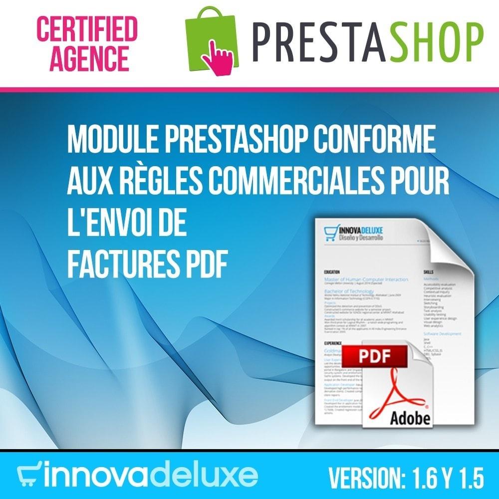 module - Comptabilité & Facturation - Facture électronique (réglementations commerciales) - 1