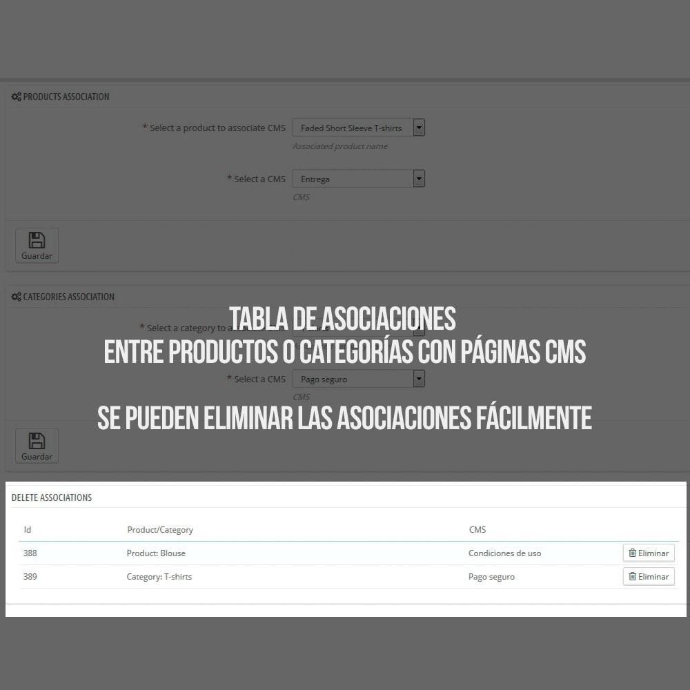 module - Informaciones adicionales y Pestañas - Páginas CMS en pestaña de ficha de producto - 5