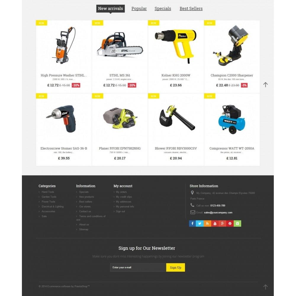 theme - Дом и сад - Tools Market Prestashop 1.6 Responsive Theme - 4