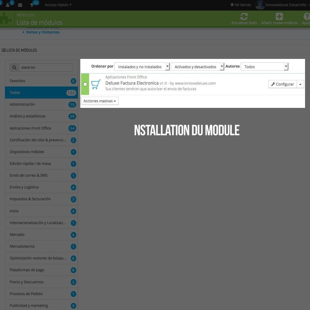 module - Comptabilité & Facturation - Facture électronique (réglementations commerciales) - 2