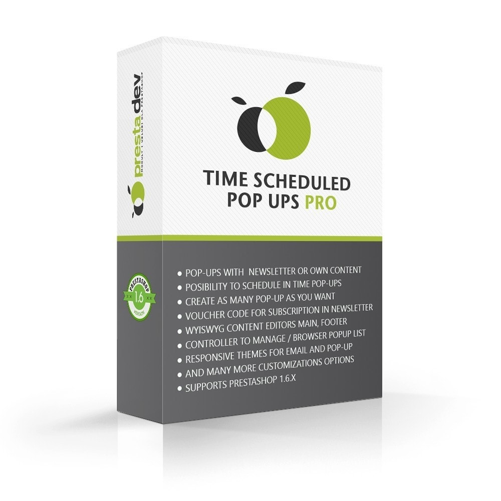 module - Pop-in y Pop-up - Time Scheduled Pop-ups Pro - 1