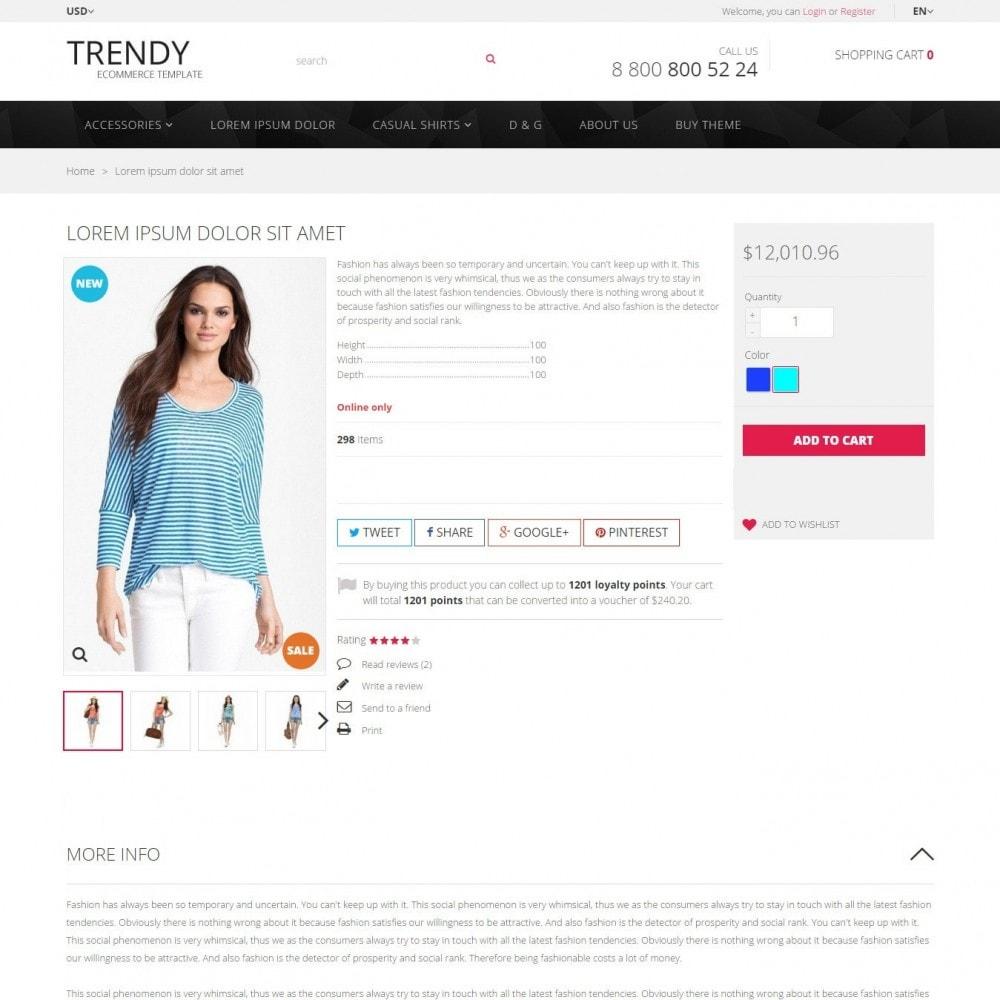 theme - Мода и обувь - Trendy - Магазин Модной Одежды - 4