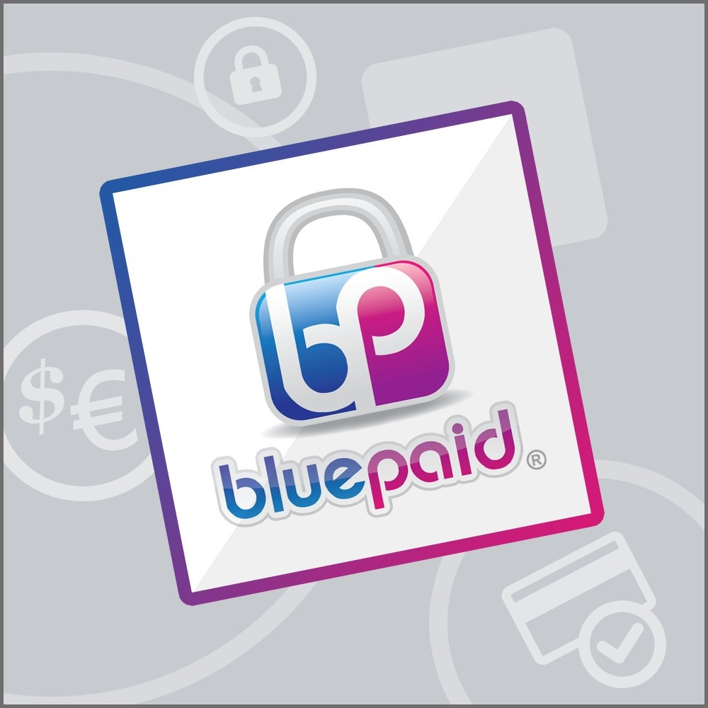 module - Payment by Card or Wallet (PayPal...) - Bluepaid - 1