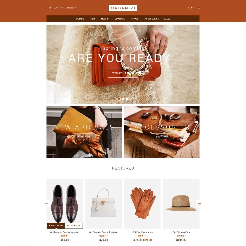 theme - Fashion & Shoes - ET Urban21 - Flexible Bags & Shoes PrestaShop - 1
