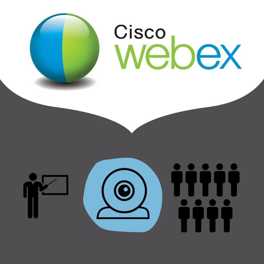 module - Asistencia & Chat online - Videoconferencia con WebEx - 1