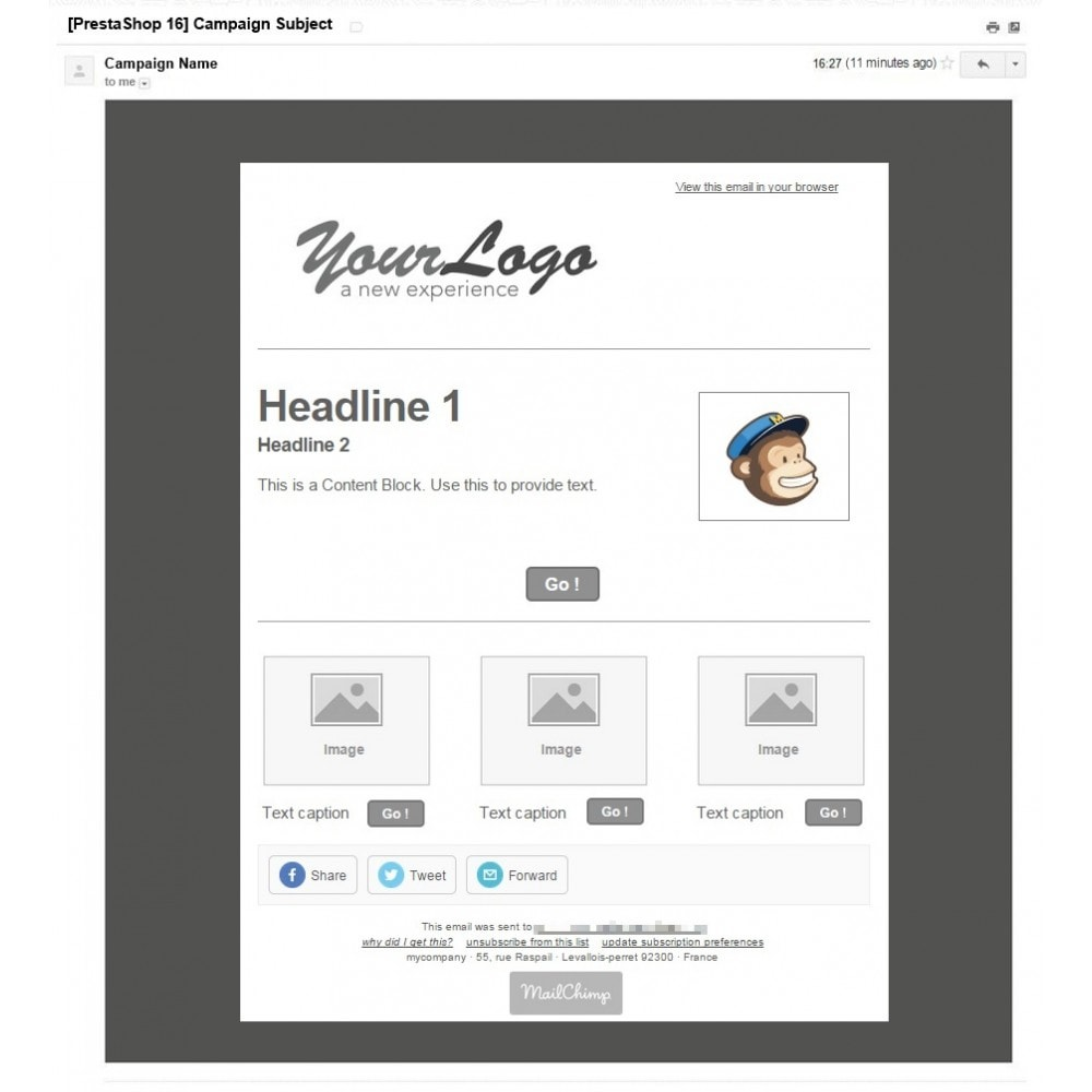 pack - Current offers – Make great savings! - Promo / Sales (Pack) : Newsletter Mailchimp + Top Banner - 3