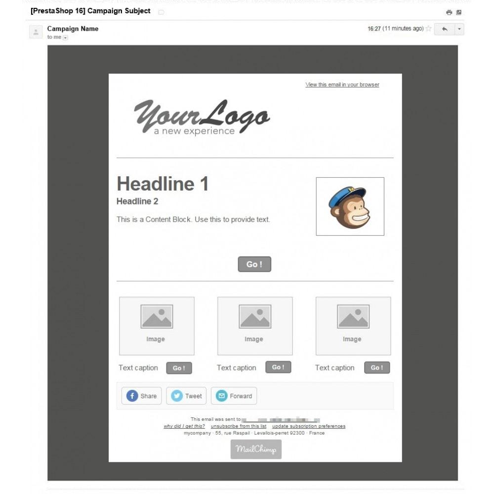 pack - De aanbiedingen van dit moment: bespaar geld! - Aanbiedingen (Pack) : Newsletter Mailchimp + Reclamebanner - 3