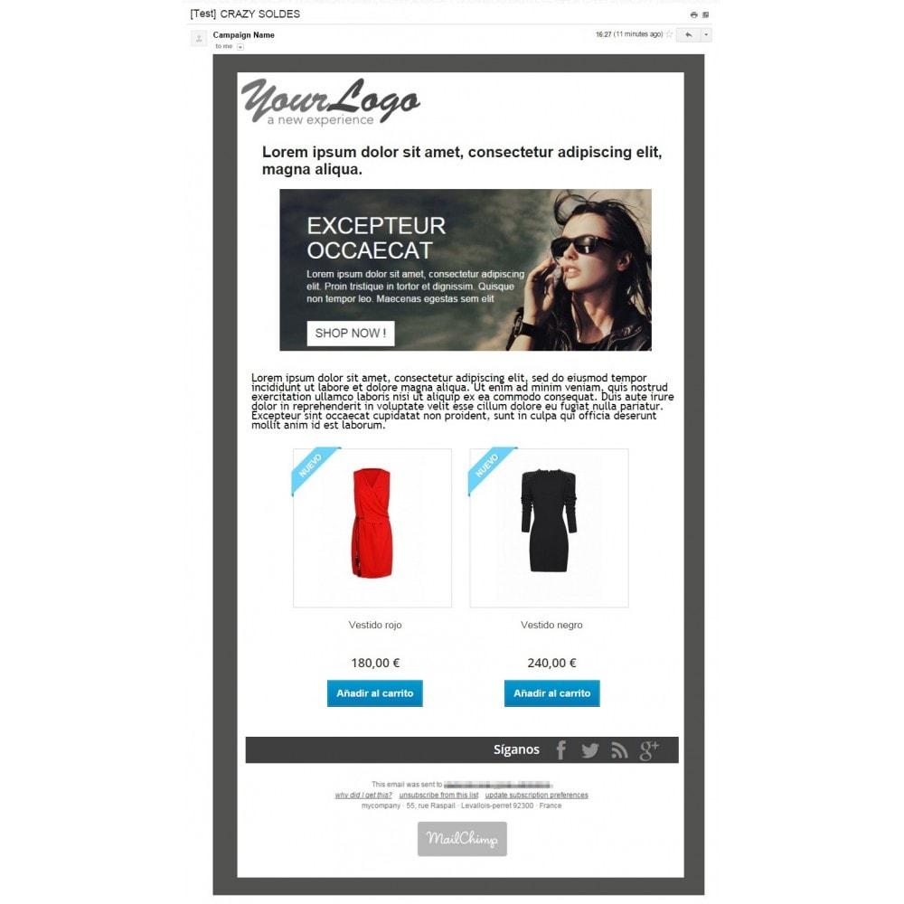 pack - Nuestras ofertas actuales - ¡Aprovecha y ahorra! - Promociones (Pack) : Boletines Mailchimp + Banner publicitario - 3