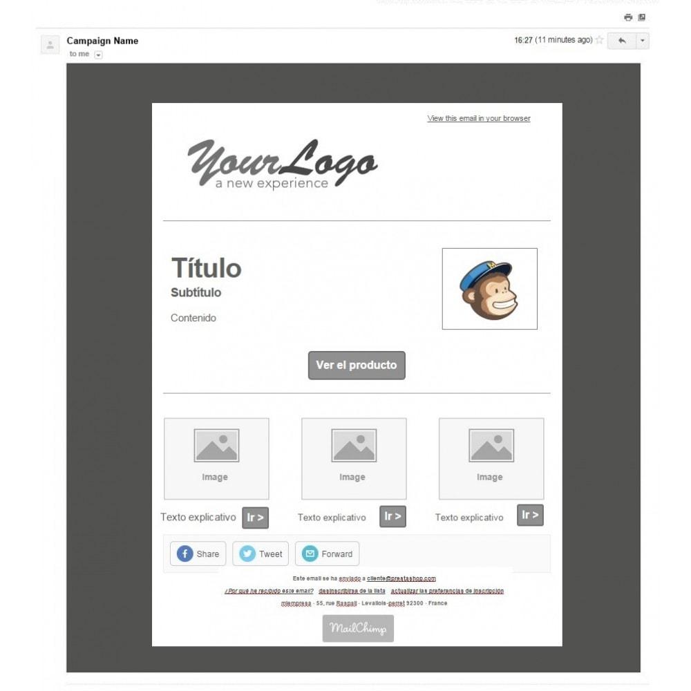 pack - Nuestras ofertas actuales - ¡Aprovecha y ahorra! - Promociones (Pack) : Boletines Mailchimp + Banner publicitario - 4