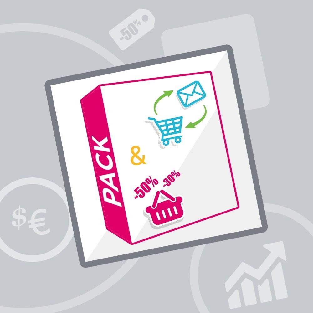 bundle - De aanbiedingen van dit moment: bespaar geld! - Conversie (Pack) : Abandoned cart reminder + Push On Cart - 1