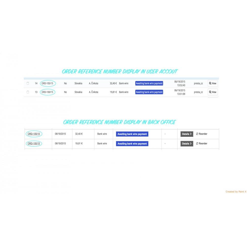 module - Gerenciamento de pedidos - Advanced Custom Order Numbers, Edit Order Numbers - 6