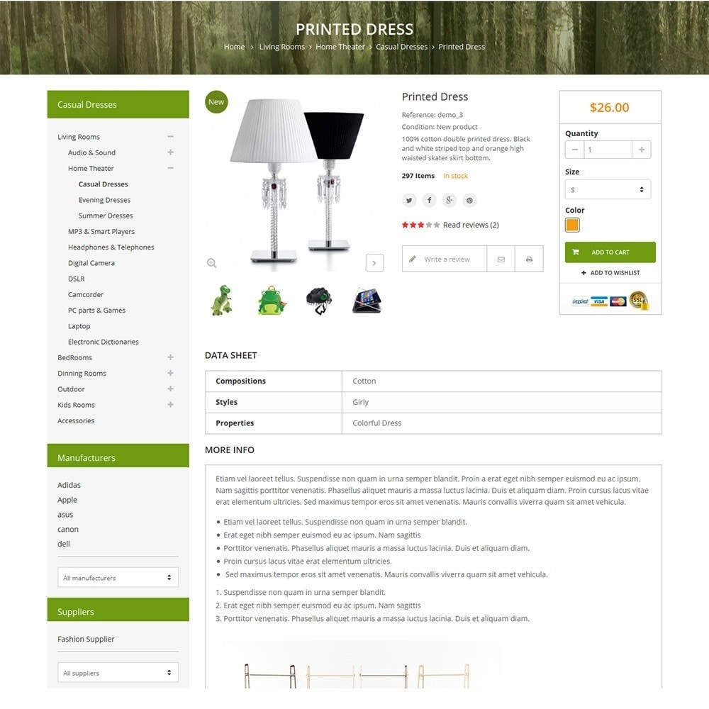 theme - Maison & Jardin - Funismart - Furniture Store - 4