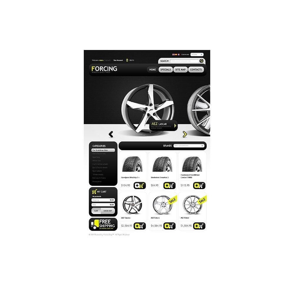 theme - Automotive & Cars - Wheels & Tires - 1