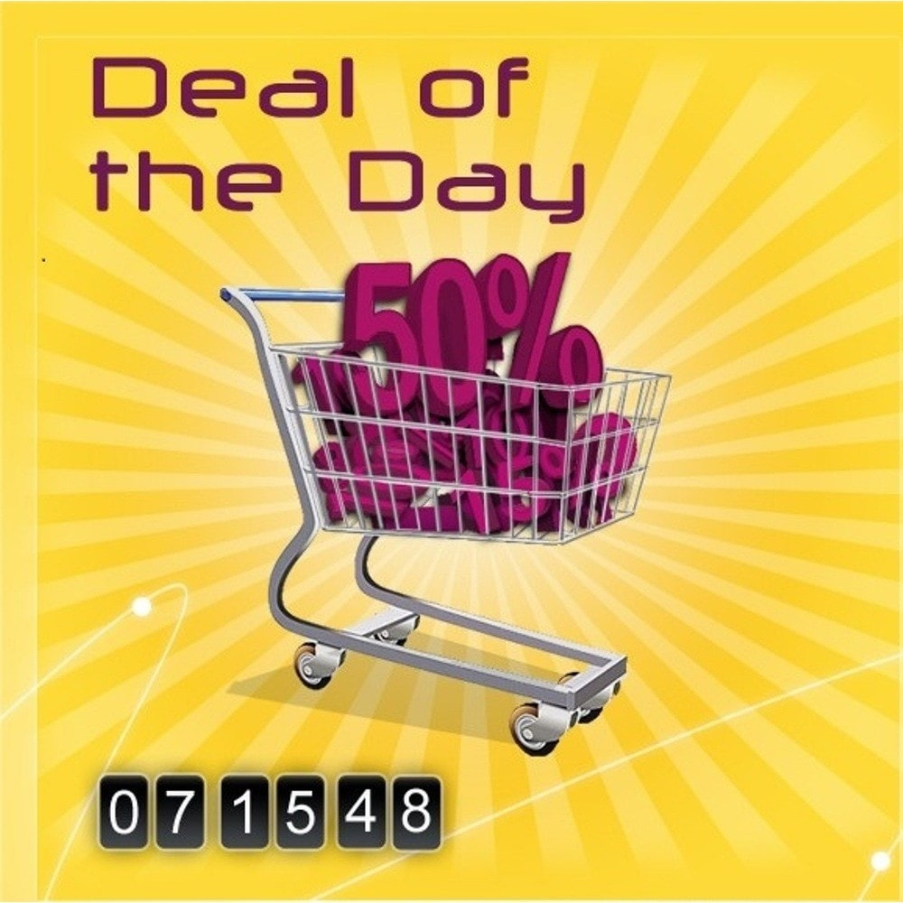 module - Flash & Private Sales - Deal of the day - 1