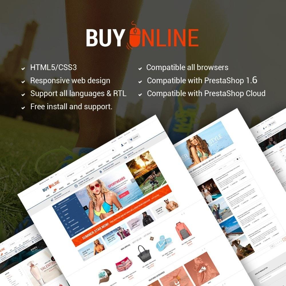 theme - Mode & Schoenen - BuyOnline - Fashion Store Responsive PrestaShop - 1