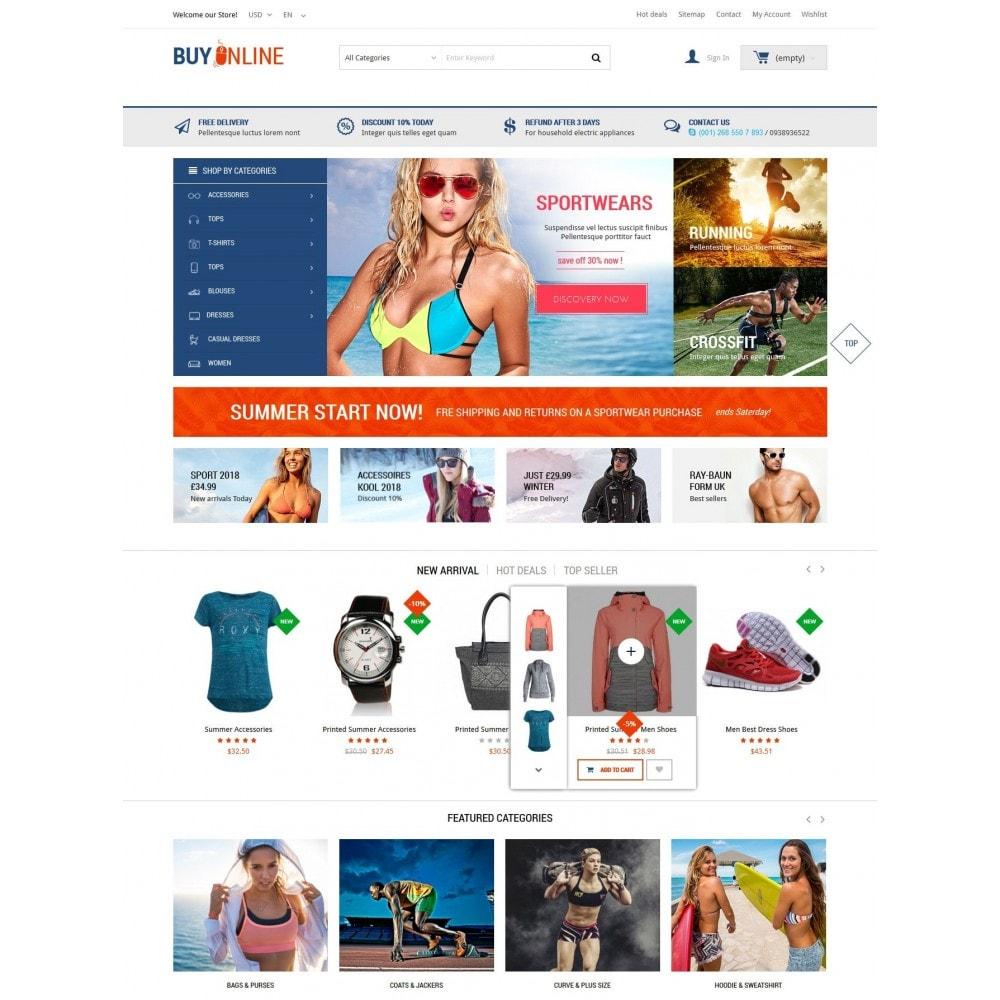 theme - Mode & Schoenen - BuyOnline - Fashion Store Responsive PrestaShop - 2