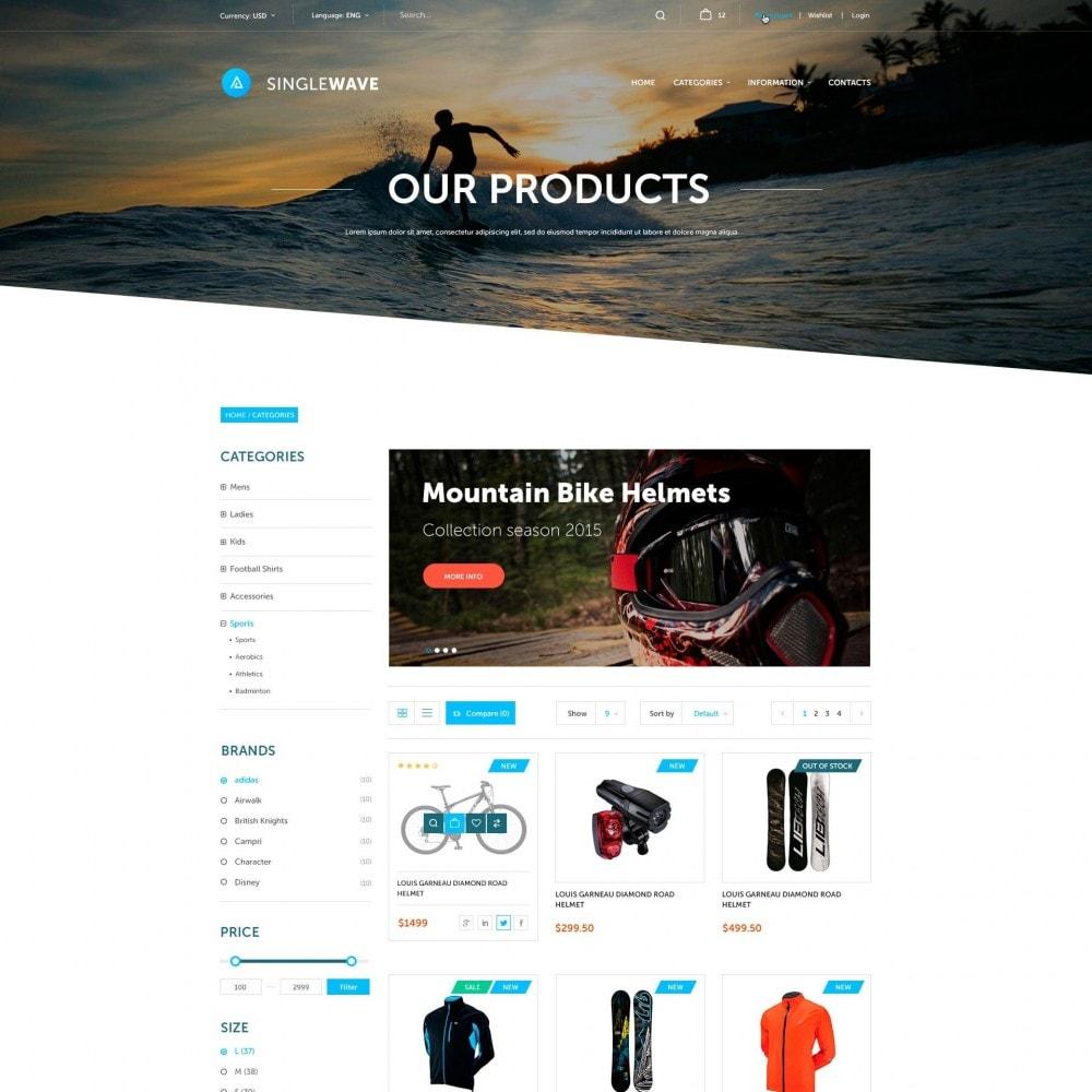 theme - Sport, Loisirs & Voyage - Singlewave - Sport Boutique - 3