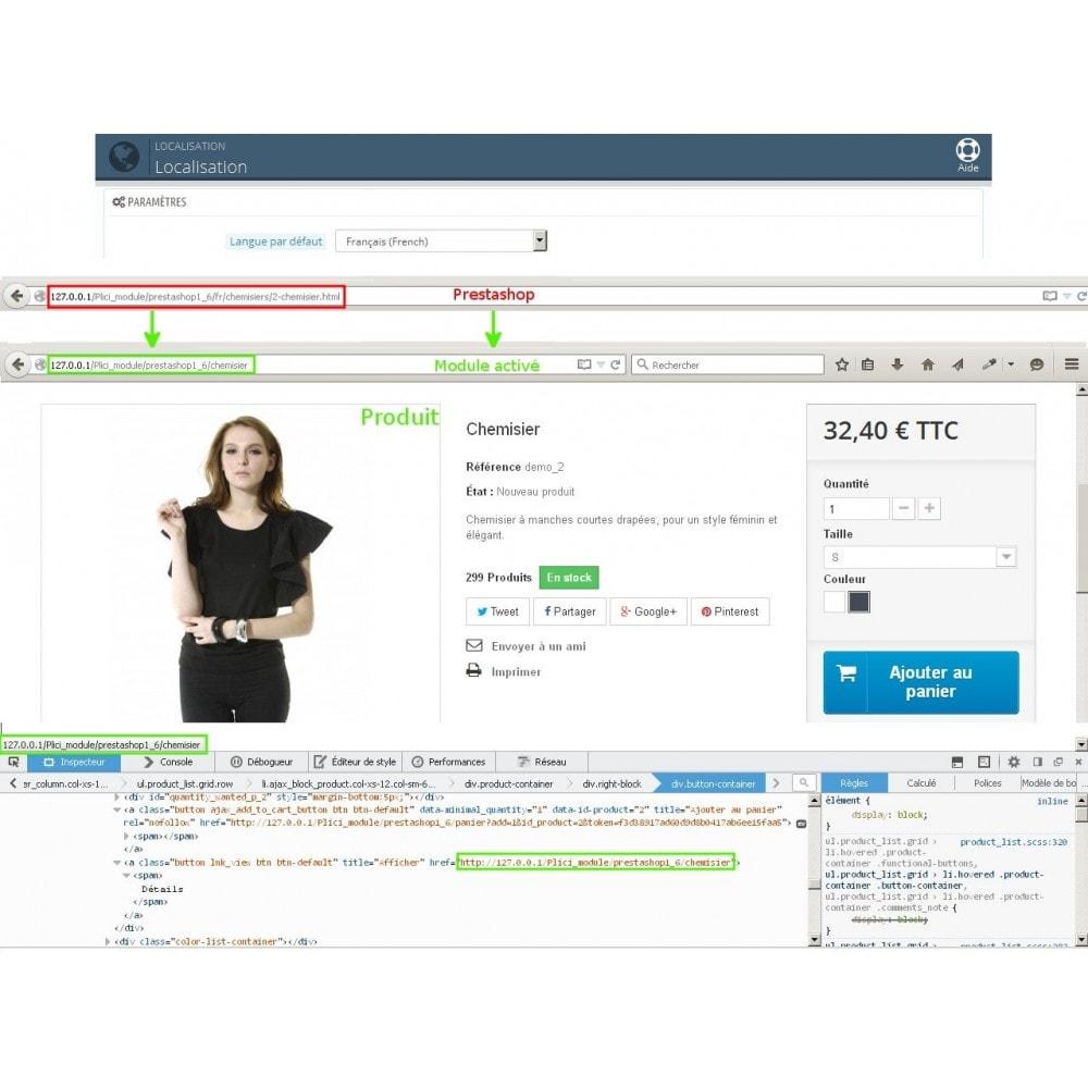 module - URL & Redirections - Url cms produits catégories modifier - 9