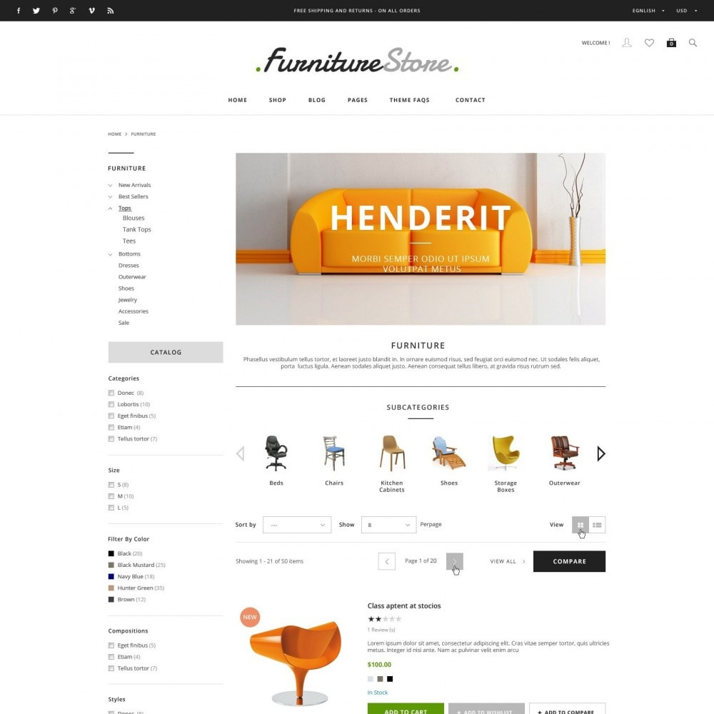 theme - Heim & Garten - ET Furniture - Soffa & Bussiness PrestaShop Theme - 3