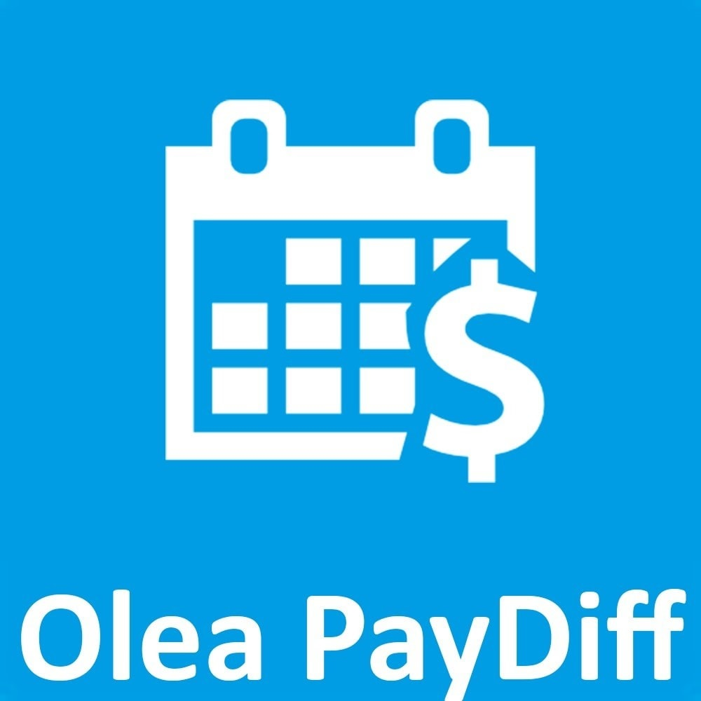 module - Andere betaalmethodes - OleaPaydiff - Deferred payments to end of month - 1