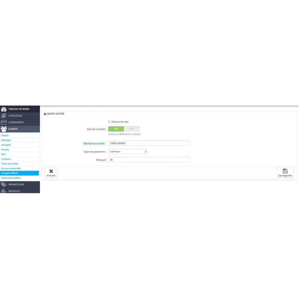 module - Autres moyens de paiement - OleaPaydiff - Paiements différés au mois - 5