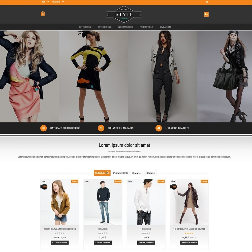 theme - Moda y Calzado - STYLE-FASHION - 6