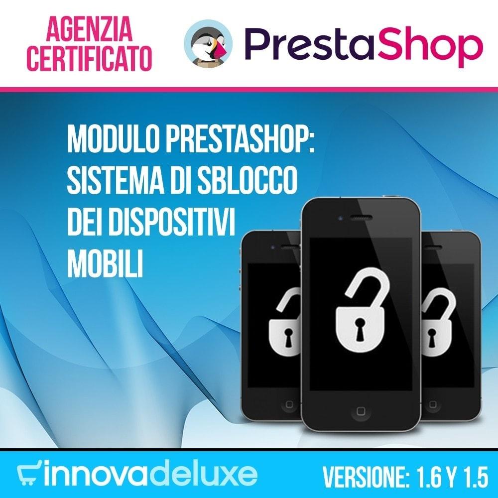 module - Form di contatto & Questionari - Sistema di sblocco dei dispositivi mobili - 1