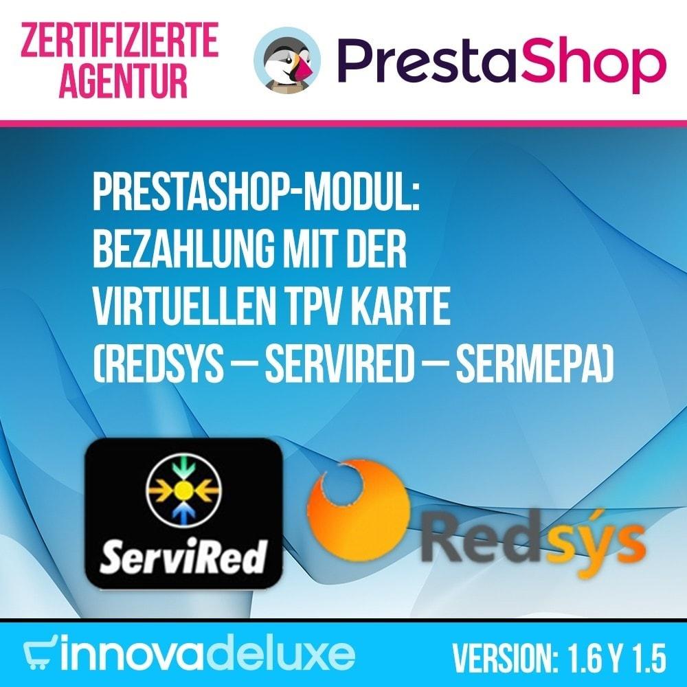module - Zahlung per Kreditkarte oder Wallet - Bezahlung mit der virtuellen TPV Karte REDSYS SHA256 - 1