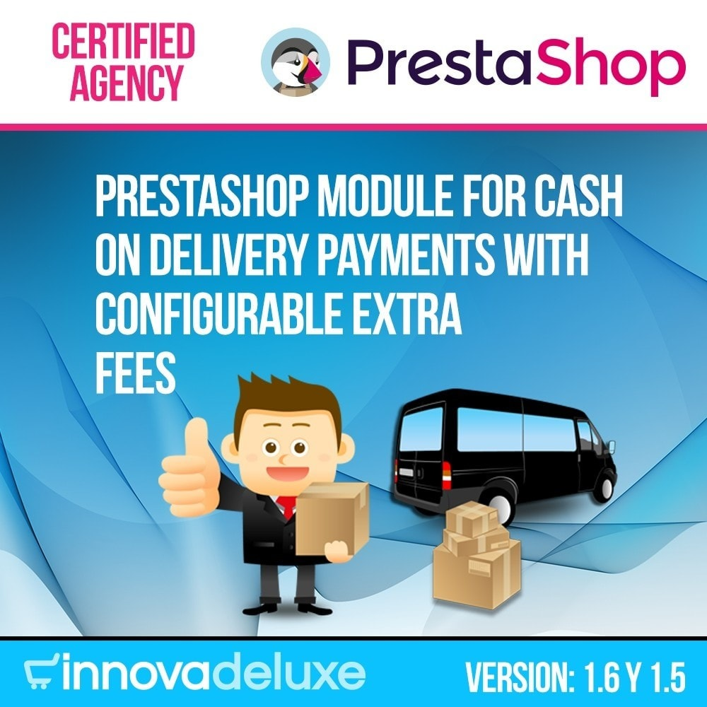 module - Cash On Delivery (COD) - COD - Cashdelivery with fee (ranks and restrictions) - 1