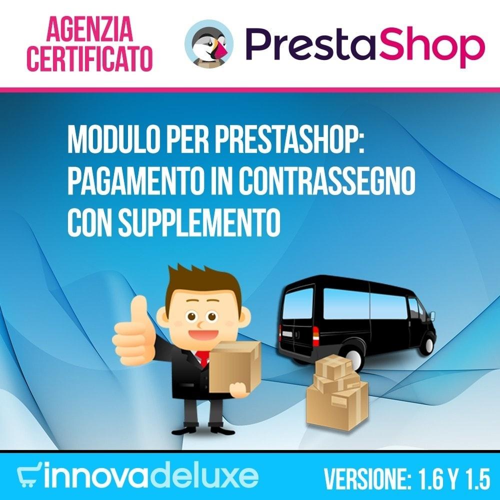 module - Pagamento alla Consegna (in contrassegno) - Pagamento in contrassegno con supplemento - 1