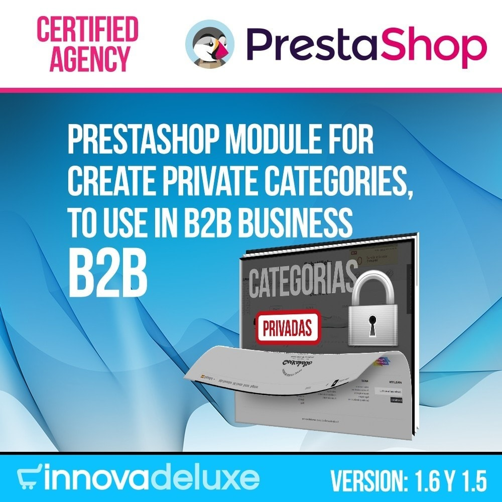 module - B2B - Private categories for b2b stores - 1